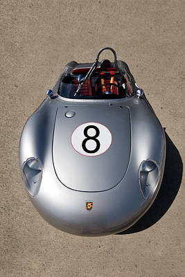 Photograph - Spyder Race Car by Peter Tellone