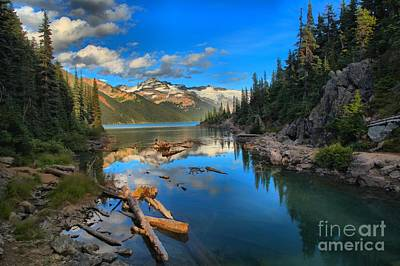 Photograph - Squamish Garibaldi Lake by Adam Jewell