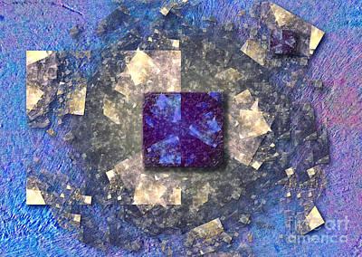 Digital Art - Square  by Alexa Szlavics