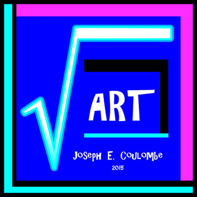 Digital Art - Square Art Book Cover 2015 by Joseph Coulombe