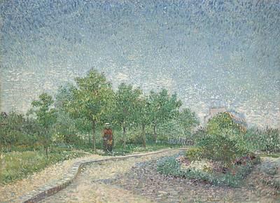 Square Saint-pierre, Paris, 1887 Art Print by Vincent van Gogh