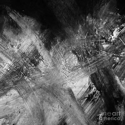 Photograph - Square Series - Black White 4 by Andrea Anderegg