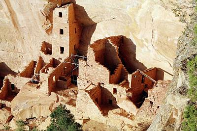 Mesa Verde Photograph - Square Tower House by Michael Szoenyi