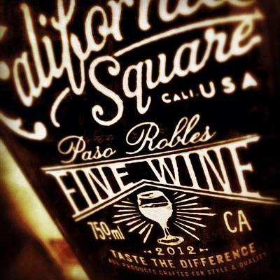 Photograph - Square Wine...hmmm by Kathleen Messmer