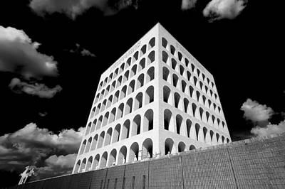Squared Colosseum#1 Print by Patrizio Cipollini