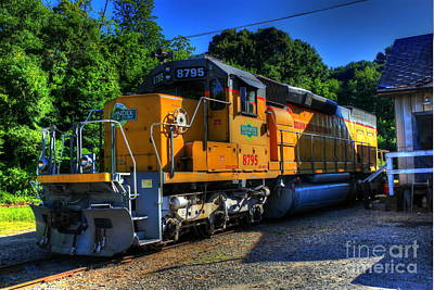 Photograph - Squaw Creek Southern Rr Workhorse by Reid Callaway
