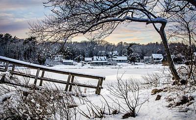 Photograph - Squeteague Harbor Winter by Jennifer Kano