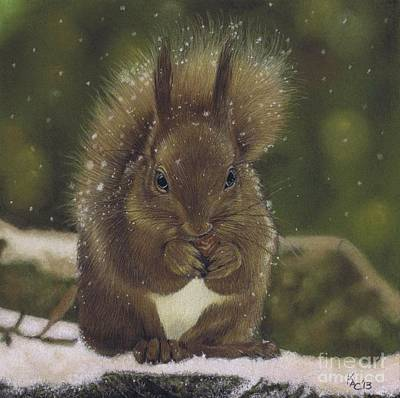 Pastel - Squirrel Nutkin by Karie-Ann Cooper