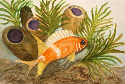 Painting - Squirrelfish by Patricia Beebe