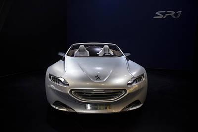 Photograph - Sr 1 Peugeot Silver. by Radoslav Nedelchev