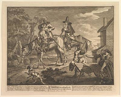 Sr. Hudibras, His Passing Worth Art Print by William Hogarth