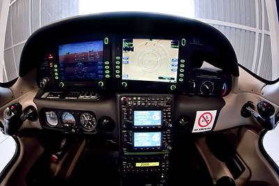 Sr22 Cockpit Art Print