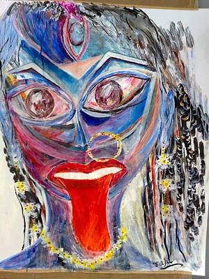 Sreema  Kali Ma Art Print