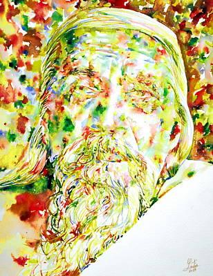 Sri Aurobindo Art Print
