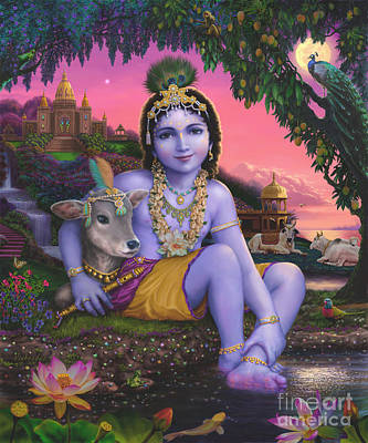 Sri Krishnachandra Art Print