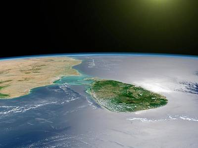 Spaceflight Photograph - Sri Lanka by Nasa