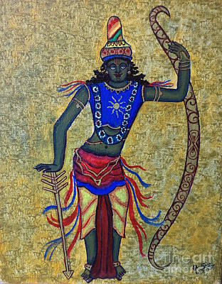 Painting - Sri Rama by Pratyasha Nithin