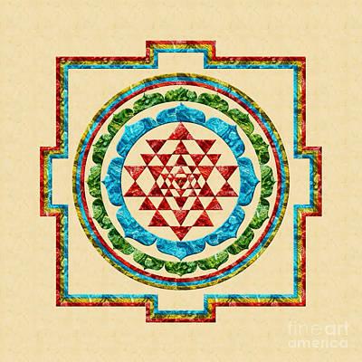 Digital Art - Sri Yantra by Olga Hamilton