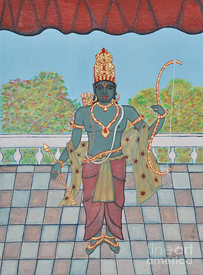 Painting - Srirama by Pratyasha Nithin