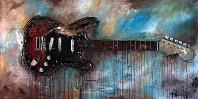 Painting - SRV by Sean Parnell
