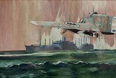 Painting - Ss Dorset by Ray Agius