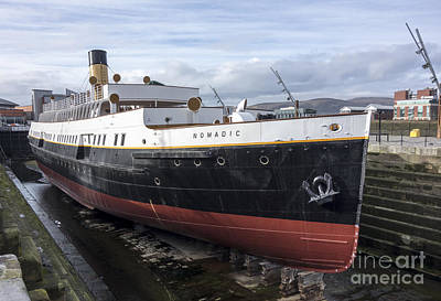 Photograph - Ss Nomadic by Jim Orr