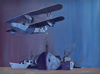 Painting - Ss Ohio by Ray Agius