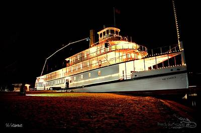 Ss Sicamous Photograph - Ss Sicamous Frontview 1/21/2014  by Guy Hoffman