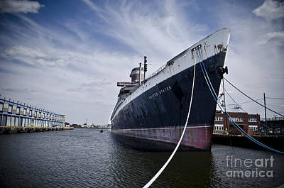 Ss United States Profile Art Print by Jessica Berlin