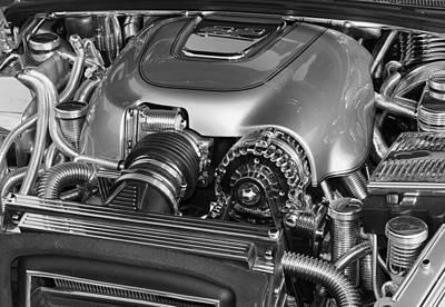 Ssr Engine Art Print by Craig T Burgwardt