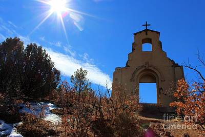 Trinidad Colorado Photograph - St Aloysius Mission On A Hill by Barbara Chichester