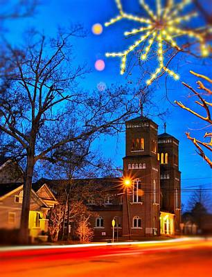 Photograph - St. Alphonsus Catholic Church by Jim Albritton