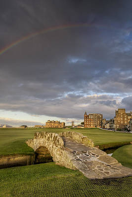 Hay Photograph - St Andrews Bridge by Chris Frost
