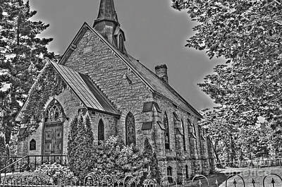 Photograph - St. Andrew's Presbyterian Church by Bianca Nadeau
