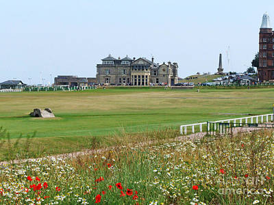 St Andrews Royal And Ancient Golf Course Art Print