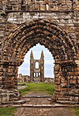 St. Andrews Ruin Print by Marcia Colelli