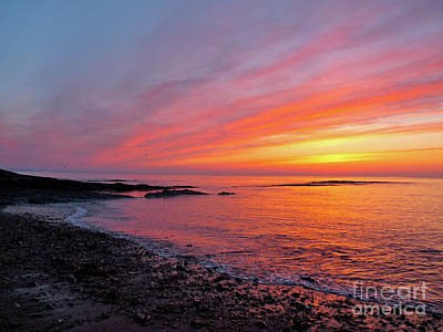 Photograph - St. Andrews Sunrise by Deborah Smolinske