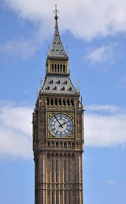 Photograph - Elizabeth Tower Big Ben London by Nop Briex