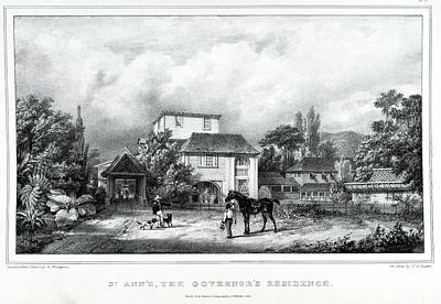 St. Anne's Print by British Library