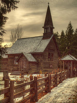 Photograph - St Anne's Church In Winter by Randy Hall
