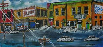 Litvack Painting - St. Annes De Bellevue by Michael Litvack