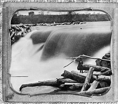 Photograph - St. Anthony Falls, C1850 by Granger