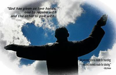 Photograph - St Augustine Billy Graham Quote by Bob Pardue