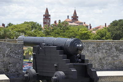Photograph - St. Augustine Cannons by Laurie Perry