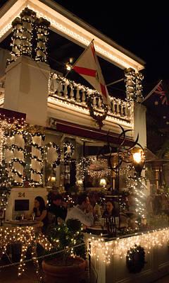 Venice Beach Bungalow - St Augustine Christmas Lights  by Patti Colston