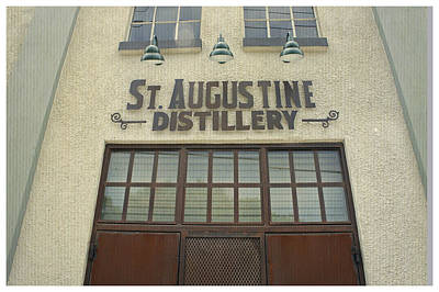 Photograph - St. Augustine Distillery by Laurie Perry