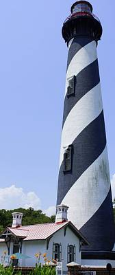 Photograph - St. Augustine Lighthouse by Laurie Perry