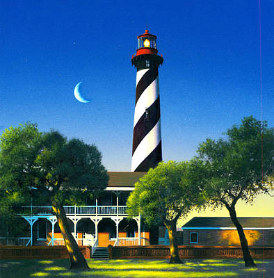St Augustine Art Print by MGL Studio - Chris Hiett