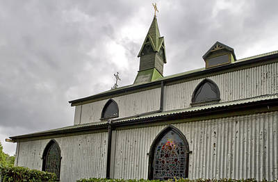 Photograph - St Barbaras Garrison Church by Shirley Mitchell