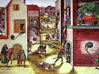 St Bartholomew's Day Massacre Art Print by Cci Archives